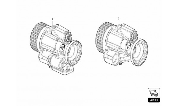037 Front Axle Differential
