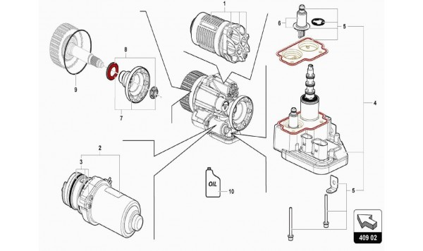 038 Front Axle Differential