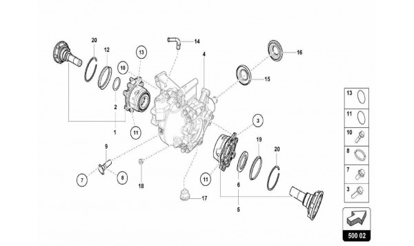 041 Rear Differential Assembly