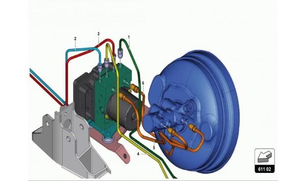 047 Brake Servo, Pipes And Vacuum System