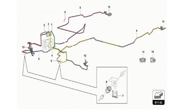 048 Brake Servo, Pipes And Vacuum System