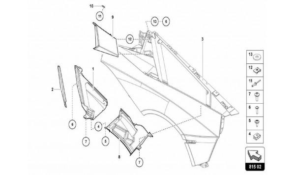 061 Air Conveyor - Air Intake Trim Plate