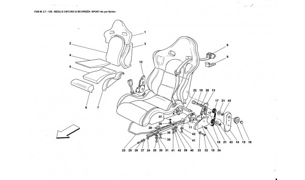SEATS AND SAFETY BELTS -SPORT-Nat far Spider-
