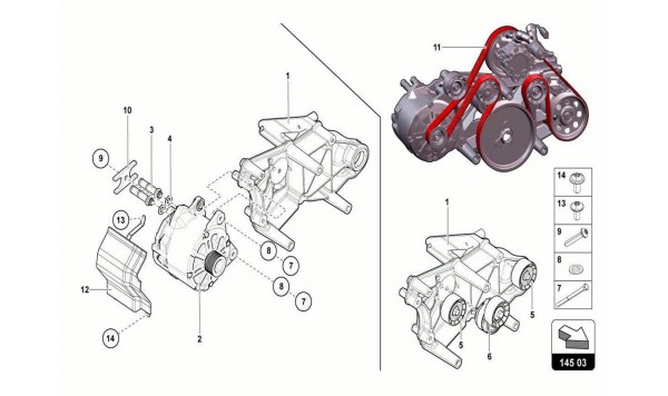 023 HEAD TIMING SYSTEM - ALTERNATOR