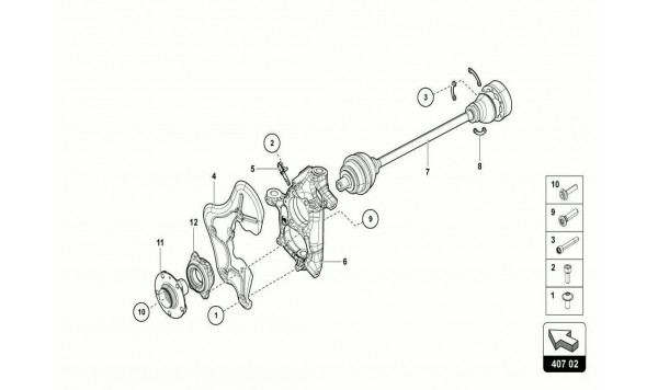 041 FRONT DRIVE SHAFT