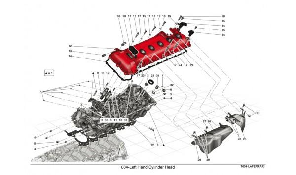 004-Left Hand Cylinder Head