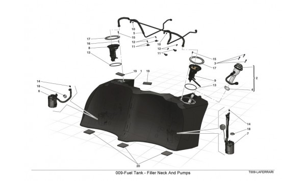 009-Fuel Tank - Filler Neck And Pumps