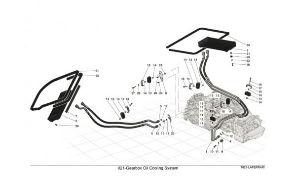 021-Gearbox Oil Cooling System