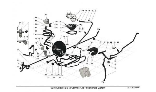 023-Hydraulic Brake Controls And Power Brake System