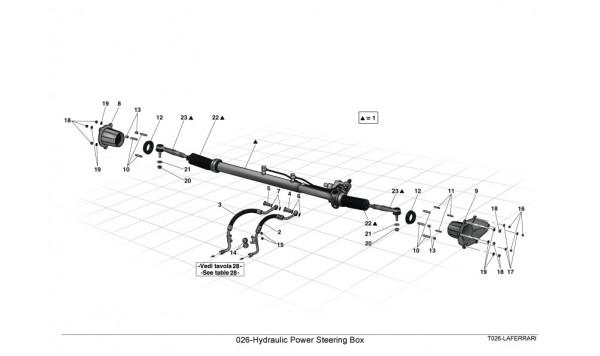026-Hydraulic Power Steering Box