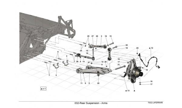 032-Rear Suspension - Arms