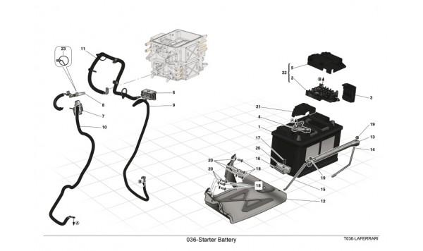 036-Starter Battery