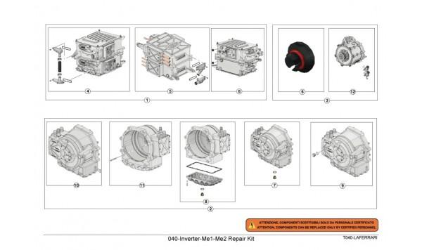 040-Inverter-Me1-Me2 Repair Kit
