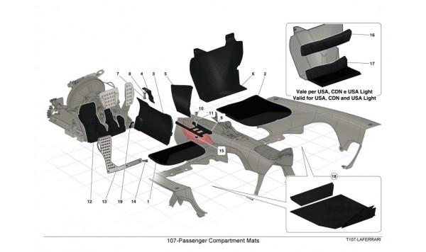 107-Passenger Compartment Mats