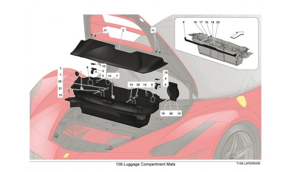 108-Luggage Compartment Mats