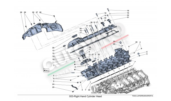 003-Right Hand Cylinder Head