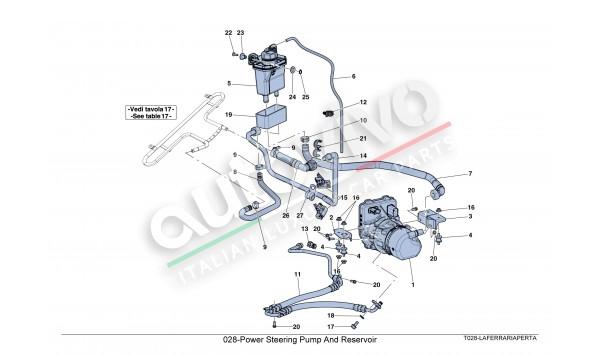 028-Power Steering Pump And Reservoir