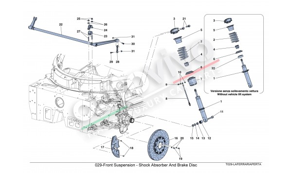 029-Front Suspension - Shock Absorber And Brake Disc