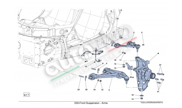 030-Front Suspension - Arms