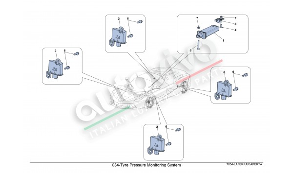 034-Tyre Pressure Monitoring System