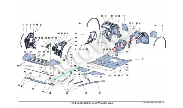 103-Flat Undertray And Wheelhouses