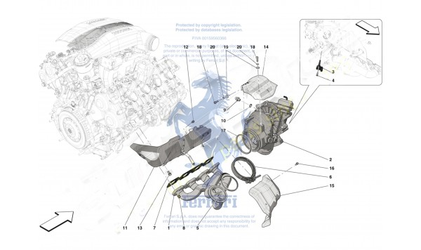 0027 FORCED INDUCTION SYSTEM TURBOCHARGERS AND MOUNTS