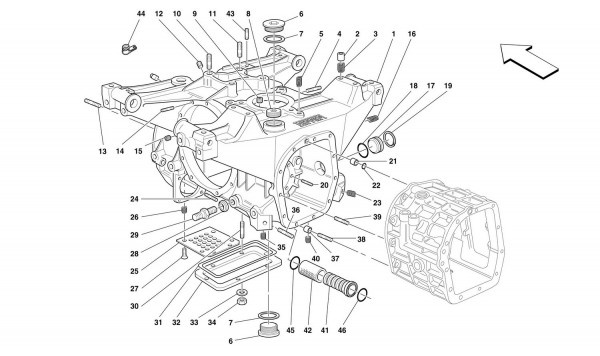 GEARBOXES/DIFFERENTIAL HOUSING