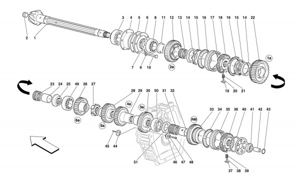 GEARBOX LAY SHAFT