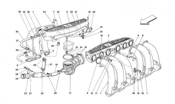 Air intake manifolds