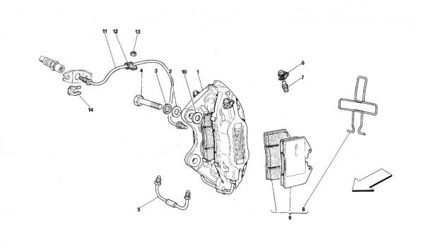 Rear brakes calipers
