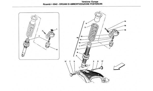 REAR SHOCK ABSORBER DEVICES