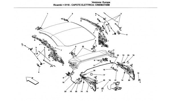 ELECTRICAL CAPOTE: MOVEMENT PARTS
