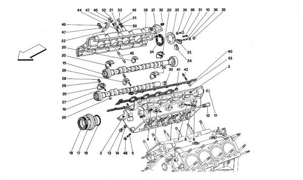 R.H. cylinder head