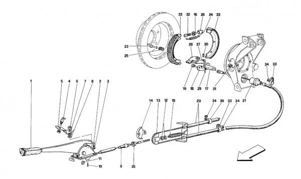 Hand-brake control