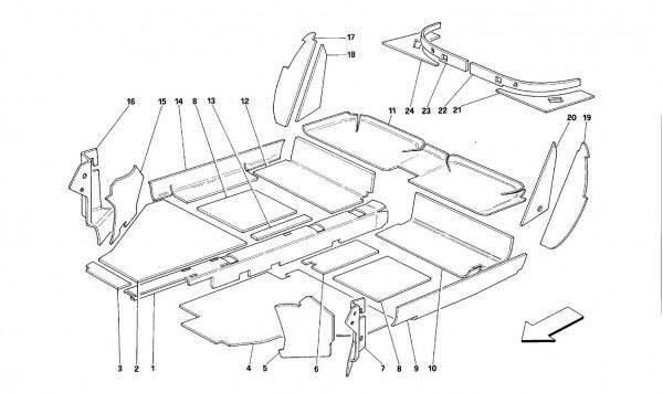 Interior compartment insulation - Coupé -