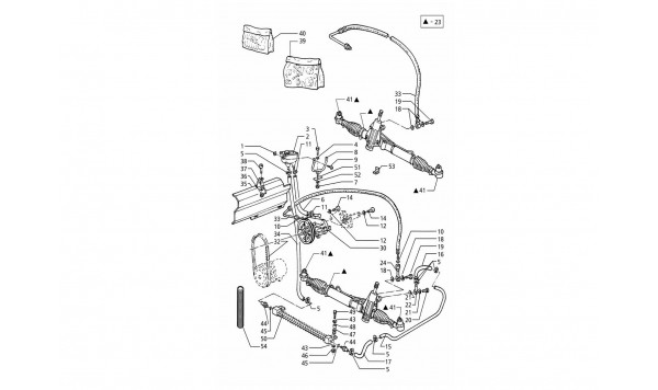 POWER STEERING SYSTEM (L.H.DRIVE - R.H. DRIVE)