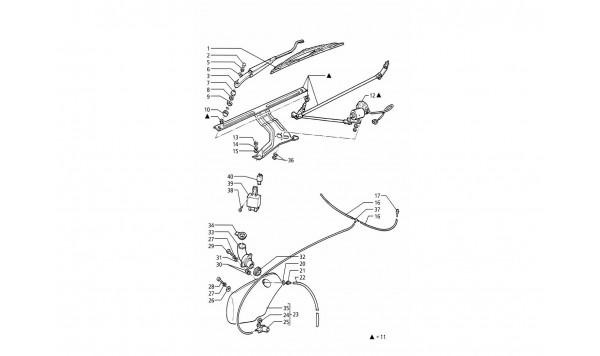 WINDSCREEN WIPER - WASHER (R.H.DRIVE)