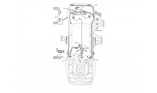 ELECTRICAL SYSTEM: BOOT/DOORS/PASSANGER COMPARTMENT (L.H.DRIVE)