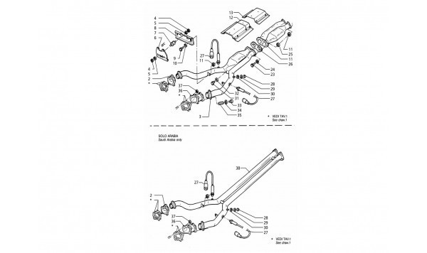 FRONT EXHAUST SYSTEM