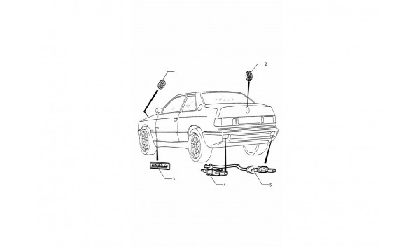 VEHICLE EXTERIOR AND EXHAUST VARIATIONS