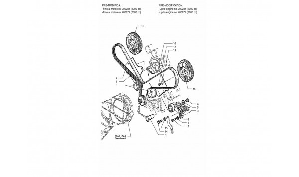 TIMING CONTROL (PRE-MODIFICATION)