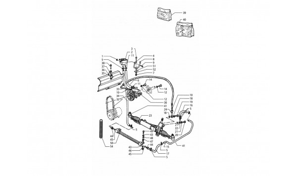 POWER STEERING SYSTEM (L.H. DRIVE)