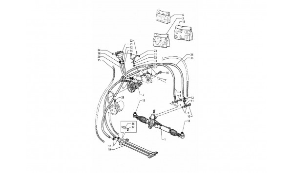 POWER STEERING SYSTEM (R.H. DRIVE)