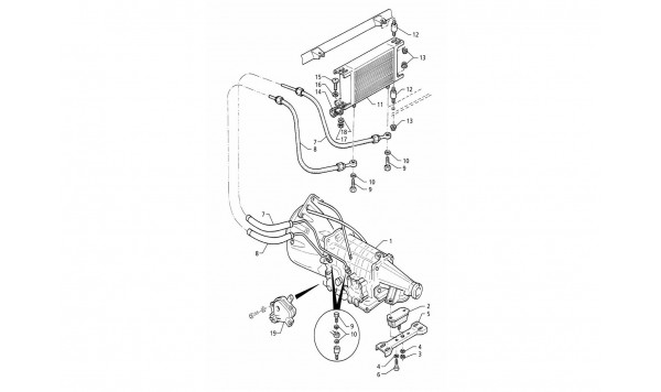 AUTOMATIC TRANSMISSION - OIL RADIATOR