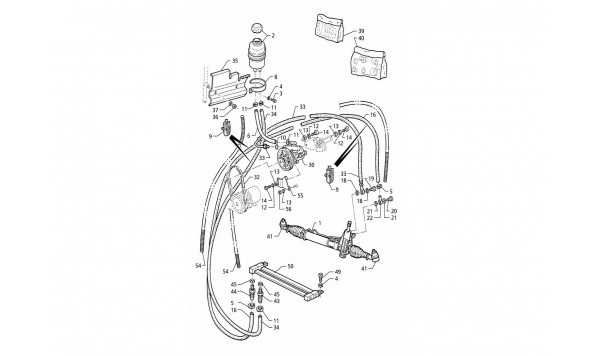POWER STEERING SYSTEM (LEFT H.D.)