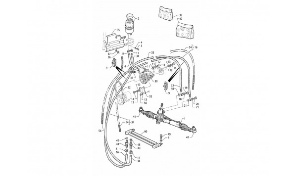 POWER STEERING SYSTEM (RIGHT H.D.)