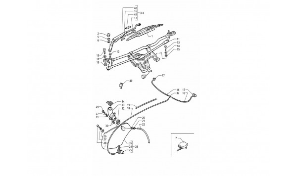 WINDSCREEN WIPER AND WASHER (RIGHT H.D.)