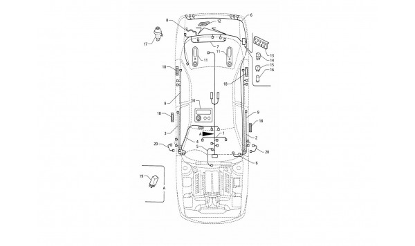 ELECTRICAL SYSTEM: BOOT/DOORS/PASSANGER COMPARTMENT (RIGHT H.D.)
