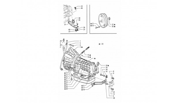 AUTOMATIC TRANSMISSION - CONVERTER (4HP)