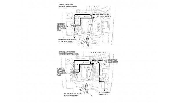 VACUUM SYSTEM (L.H. Drive)